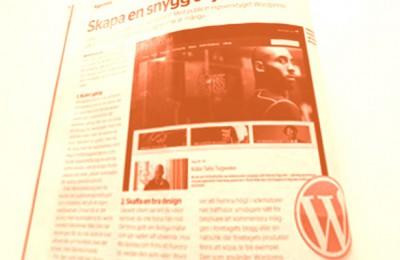 Postens tidning rekommenderar WordPress