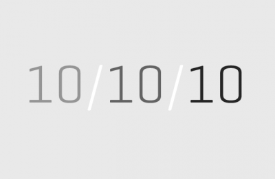 101010 – 10 oktober 2010 – Klockan 10:10:10